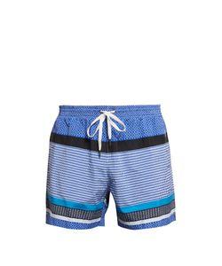 DANWARD | -Panel Print Swim Shorts