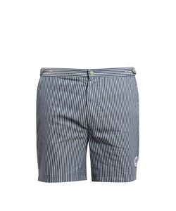 Robinson Les Bains | Oxford Long Swim Shorts