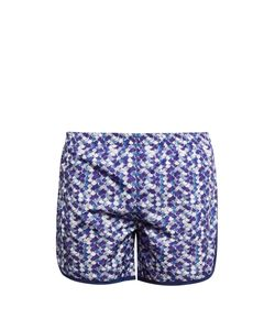 Robinson Les Bains | Cambridge Long Printed Swim Shorts