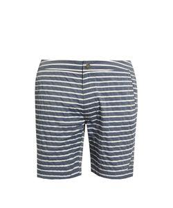 Onia | The Calder 7.5 Striped Swim Shorts
