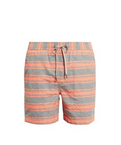 Onia | Charles 5 Striped Swim Shorts