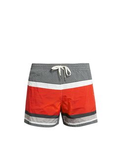DANWARD | -Panel Drawstring Swim Shorts