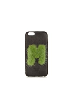 Fendi | M Mink-Fur And Leather Iphonereg 6 Case