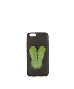 Fendi | V Mink-Fur And Leather Iphonereg 6 Case