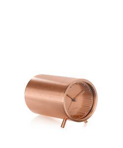 LEFF AMSTERDAM | Tube Copper-Plated Clock