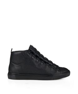 Balenciaga | High-Top Arena Water Snake Trainers
