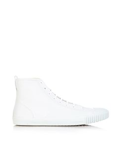 Balenciaga | High-Top Leather Trainers