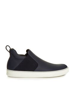 Lanvin | Leather Slip-On Chelsea Boots
