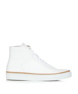 NO. 288 | Mulberry High-Top Leather Trainers