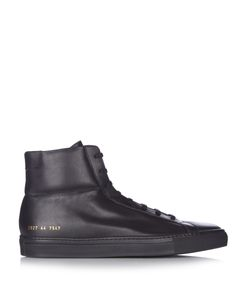 Common Projects | Achilles High-Top Leather Trainers