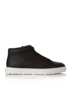 ETQ AMSTERDAM | High 1 Rubberized-Leather Trainers