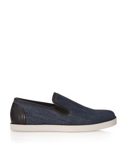 Bottega Veneta | Slip-On Denim Trainers