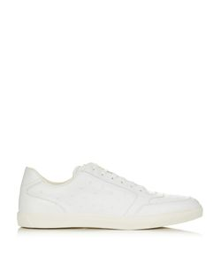 Moncler | Joseph Low-Top Star-Embossed Leather Trainers