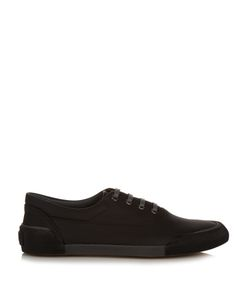 Lanvin | Low-Top Grained-Leather Trainers