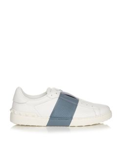 Valentino | Two-Tone Low-Top Leather Trainers