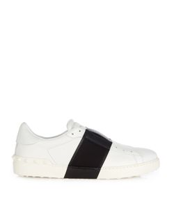 Valentino | Bi-Colour Slip-On Leather Trainers