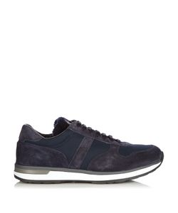 Moncler | Montego Suede And Nylon Trainers
