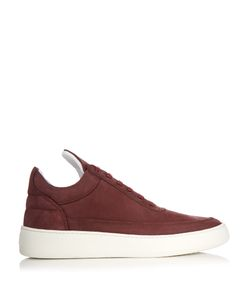 Filling Pieces | Low-Top Suede Trainers