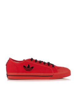 ADIDAS BY RAF SIMONS | Matrix Spirit Low-Top Canvas Trainers