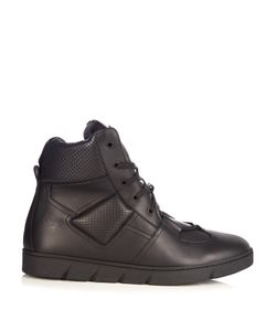 Loewe | High-Top Leather Trainers
