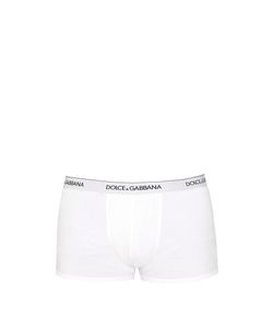 Dolce & Gabbana | Set Of Two Logo-Embroidered Boxer Trunks
