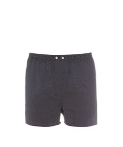 Derek Rose | Pin-Dot Cotton Boxer Shorts