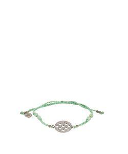 JADE JAGGER | Diamond Chrysophrase Bracelet