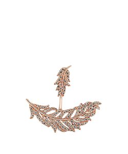ELISE DRAY | Diamond Invisible Plume Earring