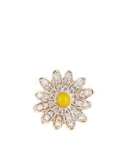 ALISON LOU | Diamond Enamel Yellowdaisy Earring