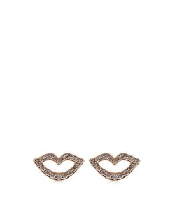 RAPHAELE CANOT | Keep Smiling Diamond Roseearrings