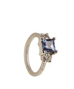 MARIA TASH | Diamond Sapphire Whiteearring