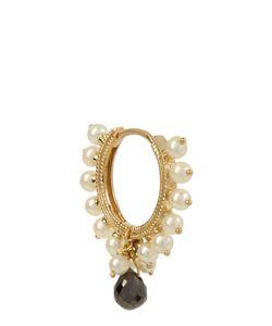 MARIA TASH   Diamond Pearl Yellowearring