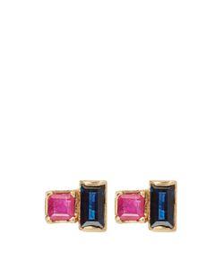 LOREN STEWART | Ruby Sapphire Earrings