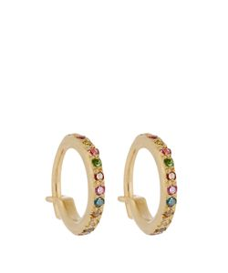 Ileana Makri | Diamond Semi-Precious Stone Earrings