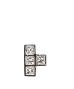 Ileana Makri | Diamond Whiteearring