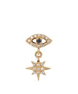 Ileana Makri | Diamond Sapphire Yellowearring