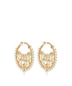 MARIA TASH | Diamond Pearl Yellowearrings