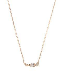 LOREN STEWART | Diamond Sapphire Yellownecklace