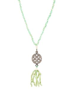 JADE JAGGER | Diamond Chrysoprase Necklace