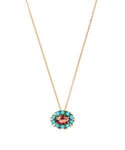 Ileana Makri | Sapphire Turquoise Yellownecklace
