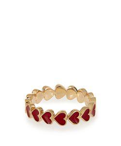 ALISON LOU | Enamel Heart Ring