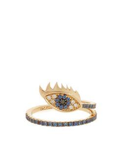 Delfina Delettrez | Diamond Sapphire Yellowring