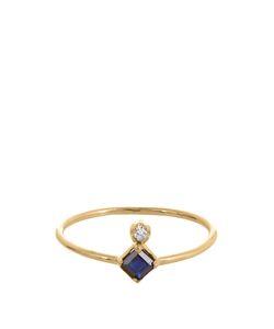 LOREN STEWART | Diamond Sapphire Ring