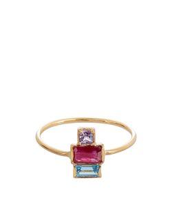 LOREN STEWART | Ruby Sapphire Topaz Ring
