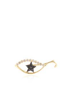 Ileana Makri | Diamond Sapphire Yellowear Cuff