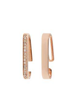 ANISSA KERMICHE | Diamond Roseear Cuffs