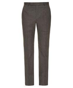 GIEVES & HAWKES | Slim-Leg Wool Trousers