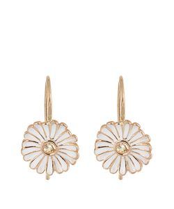 ALISON LOU | Sapphire Enamel Yellowdaisy Earrings