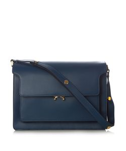 Marni | Trunk Large Leather Shoulder Bag