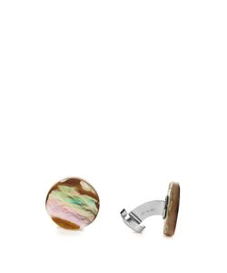 MATHIEU JEROME | Natural Shell Cufflinks